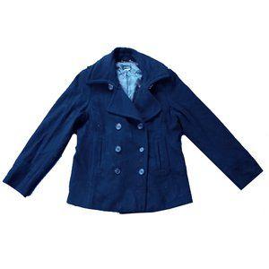 Women's J. Crew Wool Peacoat Jacket Thinsulate